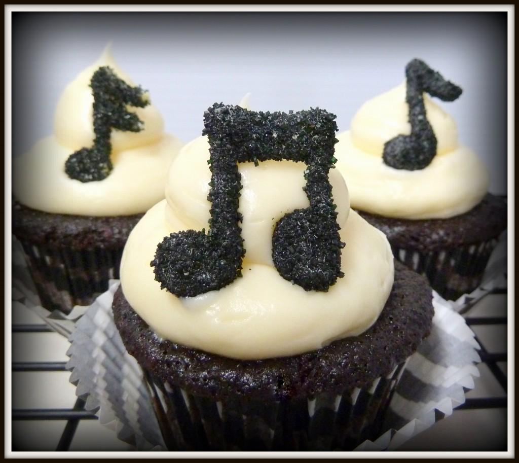 Musical cupcakes - DJ's Sugar Shack